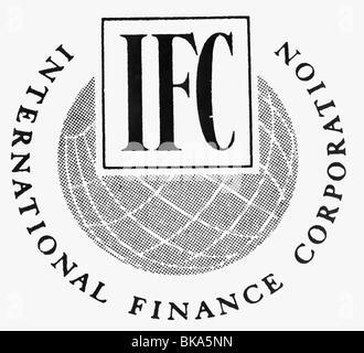Logo sign of the IFC International Finance Corporation