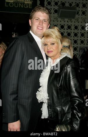 Ivana Trump and Eric Trump Ivana Living Legend Wine Collection launch Stock Photo: 59451205 - Alamy