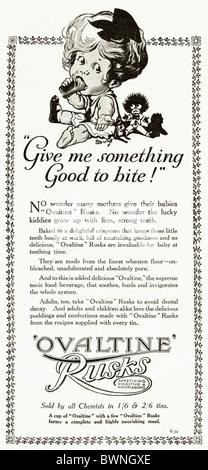 Black and white consumer magazine advertisement for