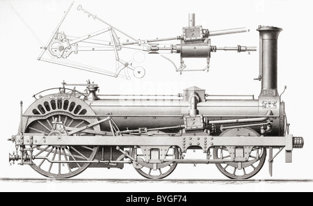 transport / transportation, railway, steam locomotive