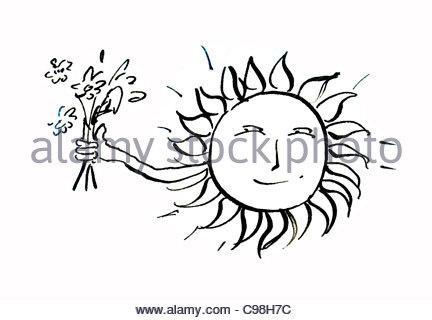 sun pictogram icon Stock Vector Art & Illustration, Vector