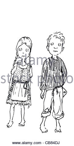Hnsel and Gretel Stock Photo, Royalty Free Image: 40137093