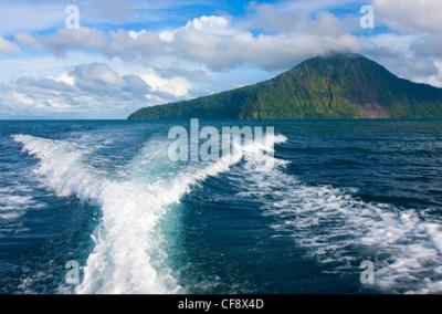 Rakata, Indonesia, Asia, Java, sea, travel, vacation ...