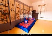 Recreation of Korean noble man's living room, Namsangol ...
