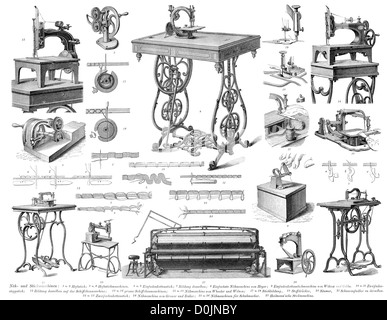 Collection of machines from the industrial revolution