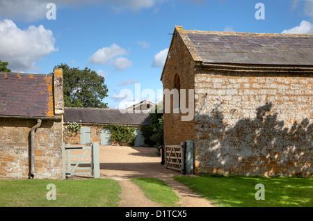 Traditional English Farmyard Stock Photo Royalty Free