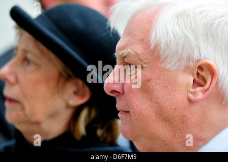 Image result for chris patten and wife mp