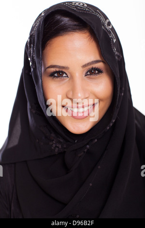 Realize that there are many excellent female lecturers who are passionate about spreading the peaceful message of islam. Close Up Portrait Of Beautiful Muslim Girl Dressed In Hijab Stock Photo Alamy