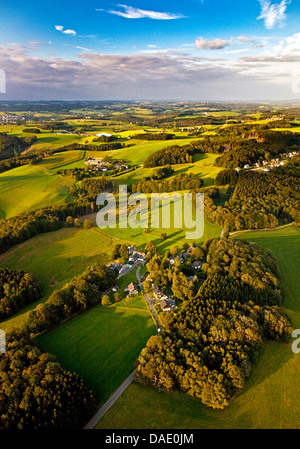 aerial view wipperfuerth germany