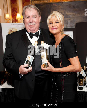Andrew Caldwell and Ivana Trump Ivana Living Legend Wine Collection Stock Photo: 59451183 - Alamy