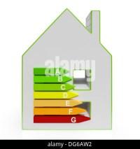 Energy Efficiency Housing Diagram Shows Efficiency