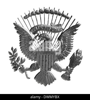 Coat of arms with an American eagle from 1 dollar banknote
