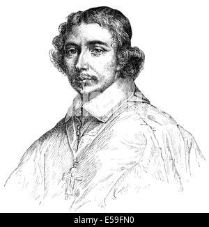 Portrait of Jean Francois Paul de Gondi (Jean-Francois