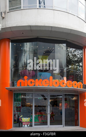 Nickelodeon Leicester Square : nickelodeon, leicester, square, Nickelodeon, Store, Leicester, Square, London, Stock, Photo, Alamy
