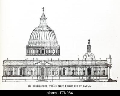 Christopher Wren (1632-1723), British architect of St Paul
