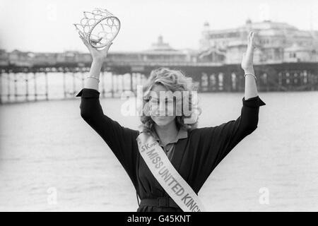 Beauty Contests  Miss UK  Brighton Stock Photo Royalty