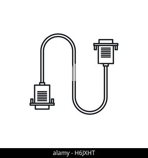 HDMI Adapter Line icon Stock Vector Art & Illustration