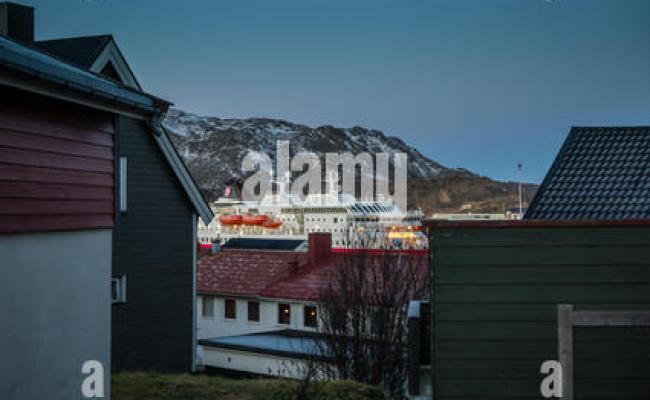 Norway Finnmark Honningsvag The Ship Ms Nordkapp
