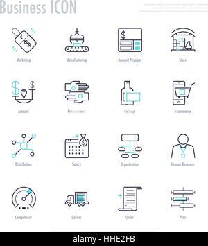 procurement icon vector Stock Vector Art & Illustration