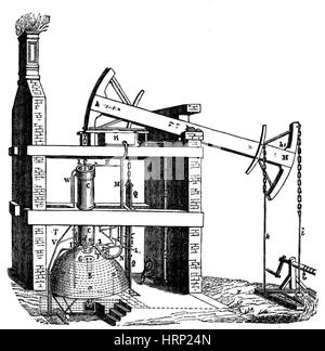 Thomas Newcomen Steam Engine 1712 the first atmospheric