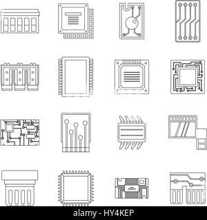 Computer Network icon. Line style icon design. UI