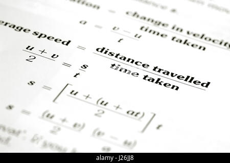 einstein formula mathematics equation equations Stock