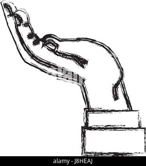 Business contract icon cartoon Stock Vector Art