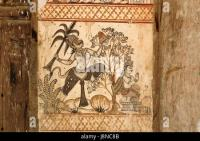Tribal art ; Warli painting ; Maharashtra ; India Stock ...