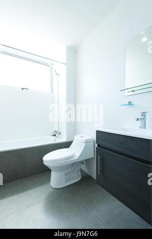 interior new apartment bathtub and shower of a modern bathroom Stock Photo 82041903  Alamy
