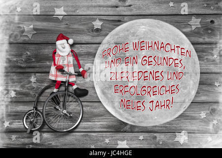 Merry christmas greetings in german christmaswalls german christmas greeting card in red white and grey color with m4hsunfo