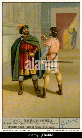 Le Cid Acte 2 Scene 2 : scene, Corneille, Stock, Photo, Alamy