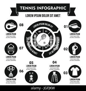 Tennis Poster Vector. Tennis Ball. Sports Event. Vertical