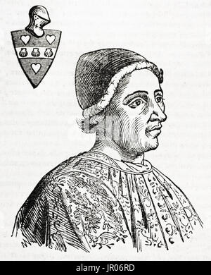 Jacques Coeur (1395-1456). French trader. House of Coeur