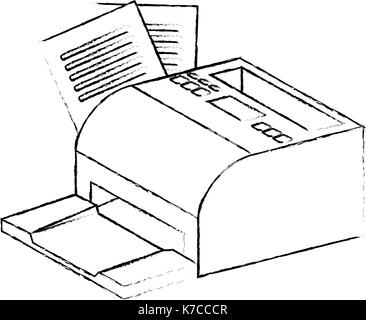 Vector icon sales printed receipt. Bill atm template, cafe