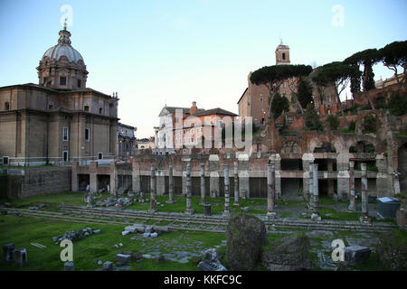 The Mamertine Prison in Rome with a column commemorating the Stock Photo 52062049  Alamy