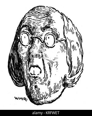 Illustration by William Heath Robinson. Date: 1941 Stock