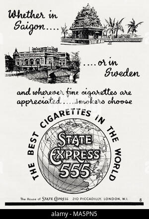 1950s advertisement circa 1951 magazine advert for