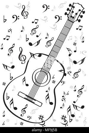 Musical symbols Stock Vector Art & Illustration, Vector