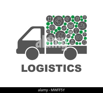 delivery, time, shipping, transport, truck Business Flow