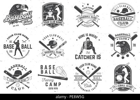 Baseball or Softball Crossed Bats with Ball Vector Image