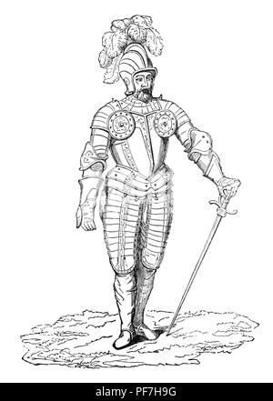 Armour during the reign of Henry VII is notable for its