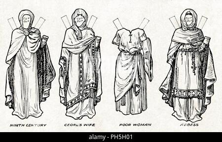 'The Gallery of British Costume: How The People Dressed in