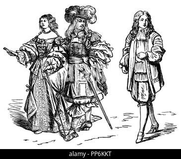 Louis XIV and Maria Theresia, King and Queen of France