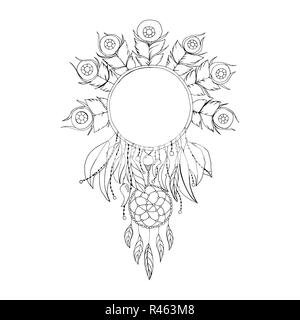 Black and White Coloring Book Cartoon Illustration of