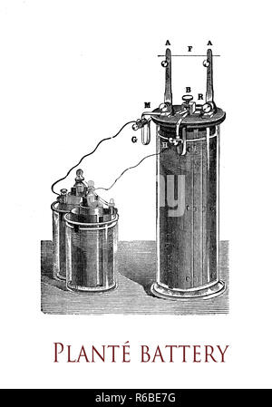 Electricity and lab applications: lead-acid battery and
