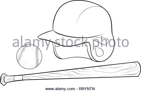 Baseball Poster Set Vector. Design For Sport Bar Promotion