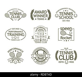 Tennis Poster Vector. Banner Advertising. A4 Size. Sport