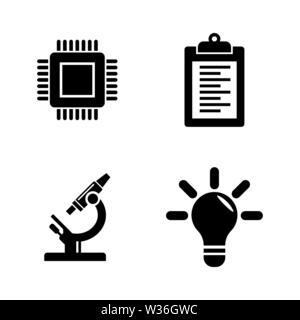 research and development Stock Vector Art & Illustration