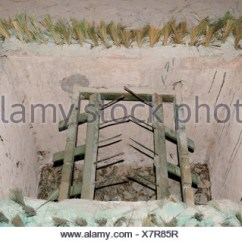 Folding Chair Trap Office Eames With Metal Spikes, Viet Cong Tunnel System In Cu Chi, Vietnam Stock Photo: 25972856 - Alamy