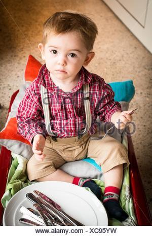 18 monthold baby boy Stock Photo 79766171  Alamy